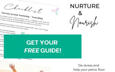 Nervous System Nurturing + Nourishing
